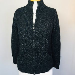 Royal Robbons zip cardigan size x-large great